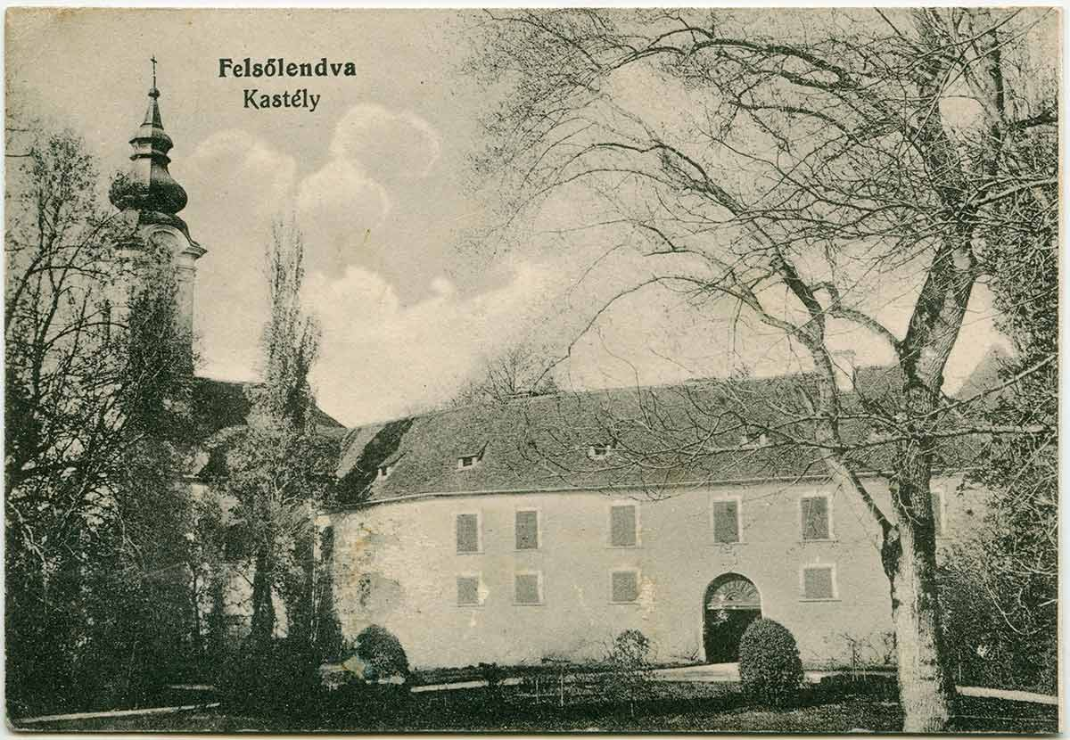 Grad na razglednici, original hrani Štefan Vida
